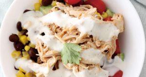 Healthy Buffalo Chicken Bowls