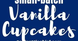 Small-batch Vanilla Cupcakes