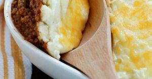 Easy Vegetarian Shepard's Pie