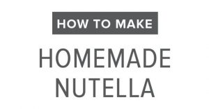 HOW TO MAKE HOMEMADE NUTELLA (DAIRY-FREE, VEGAN, PALEO)