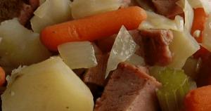 Crock Pot Cabbage and Ham