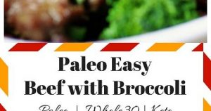 Paleo Beef With Broccoli Recipes