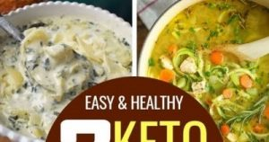Low Carb Keto Soup Recipes on the Ketogenic Diet
