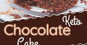 THE BEST KETO CHOCOLATE CAKE   HALLOWEEN THEMED