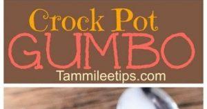 Slow Cooker Crock Pot Gumbo