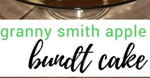 Granny Smith Apple Bundt Cake