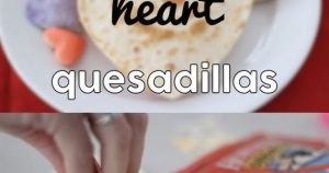 HEART QUESADILLAS