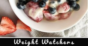 BERRY CHEESECAKE SALAD – WEIGHT WATCHERS