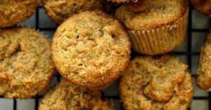 carrot zucchini toddler muffins  {gluten-free, dairy-free}