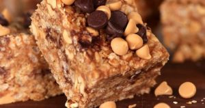 No-Bake Rice Krispies Peanut Butter Granola Bars