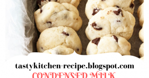 CONDENSED MILK CHOCOLATE CHIP COOKIES