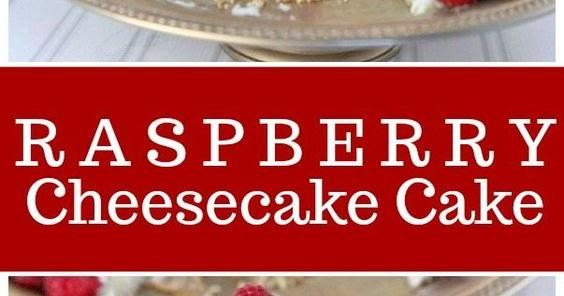 RASPBERRY CHEESECAKE CAKE