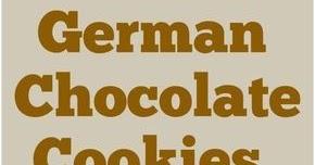 GERMAN CHOCOLATE COOKIES {THM-S, LOW CARB, SUGAR FREE}