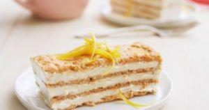 Lemon-Maple Icebox Cake