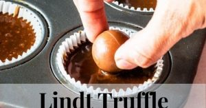 LINDT TRUFFLE CHOCOLATE CUPCAKES