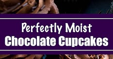 PERFECTLY MOIST CHOCOLATE CUPCAKES