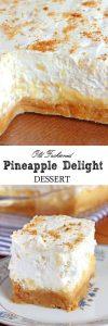 Pineapple Delight Dessert Recipe