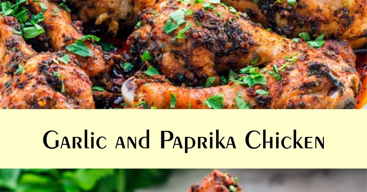 Garlic and Paprika Chicken