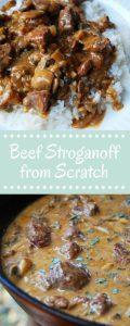 Homemade Easy Beef Stroganoff Recipe