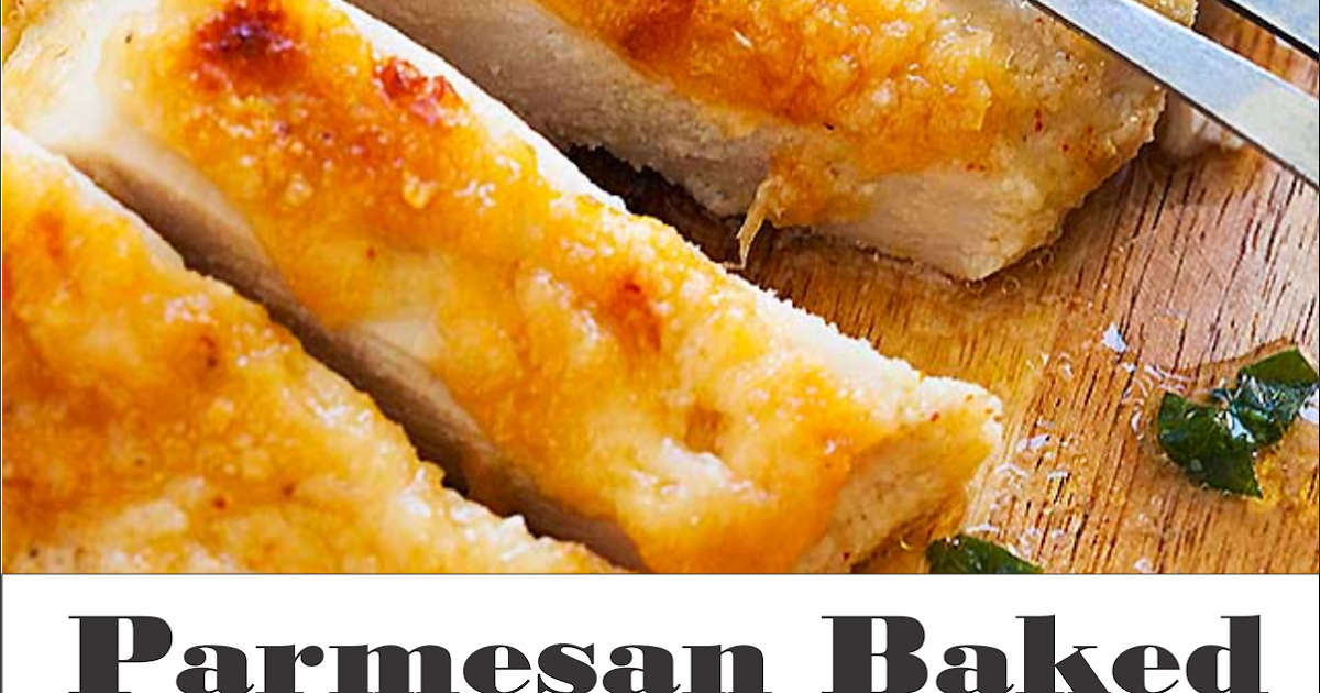 Parmesan Baked Chicken Breasts