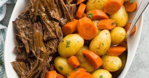 Instant Pot Pot Roast Recipe (pressure cooker pot roast)