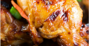 Incredible Instant Pot Ginger Garlic Drumsticks