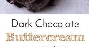 Dark Chocolate Buttercream