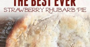 The Best Strawberry Rhubarb Pie