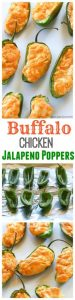 Buffalo Chicken Jalapeno Poppers