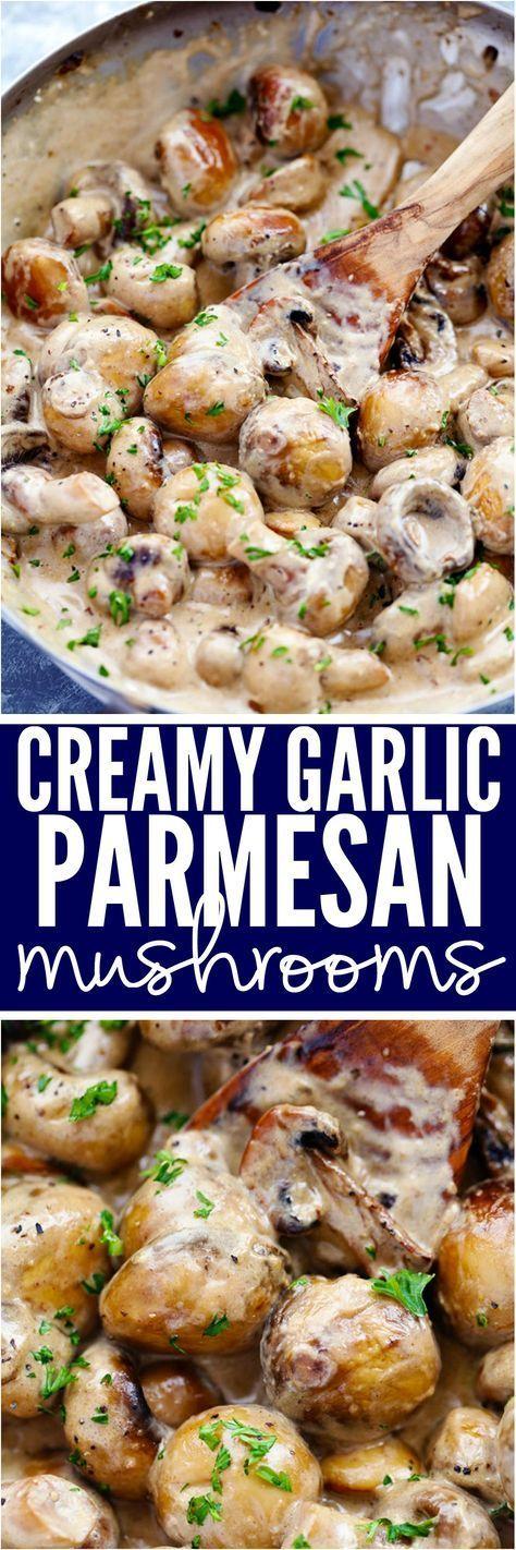 Creamy garlic mushrooms on toast - Saga