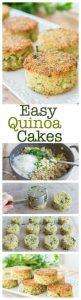 Crispy Parmesan Quinoa Cakes