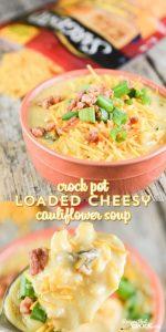 Crock Pot Loaded Cauliflower Soup