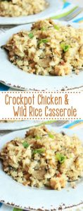 Crockpot Chicken and Wild Rice Casserole Recipe