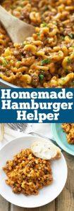 Homemade Hamburger Helper