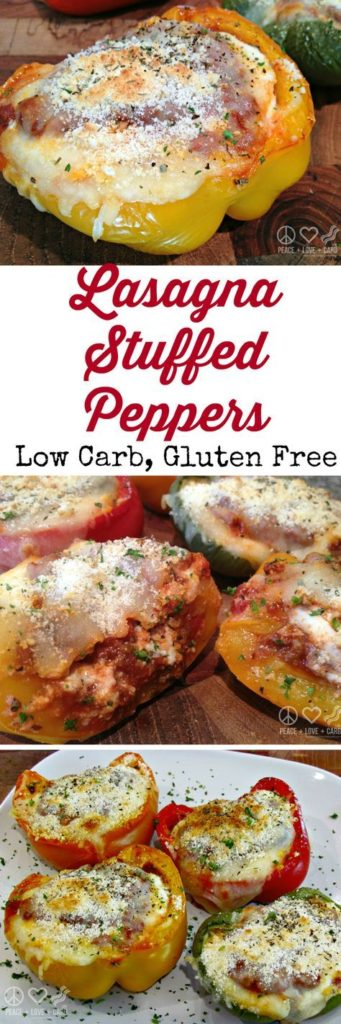 Lasagna Stuffed Peppers Recipe – Low Carb, Gluten-Free