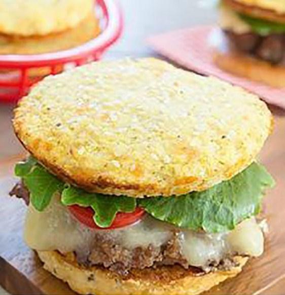Low Carb & Gluten Free Cauliflower Bread Buns