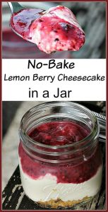 Mini Lemon Berry Cheesecake In A Jar Recipe