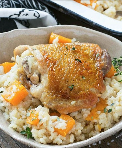 One Pot Chicken And Rice Bake Recipes