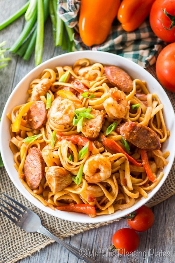 One Pot Spicy Pasta Recipe
