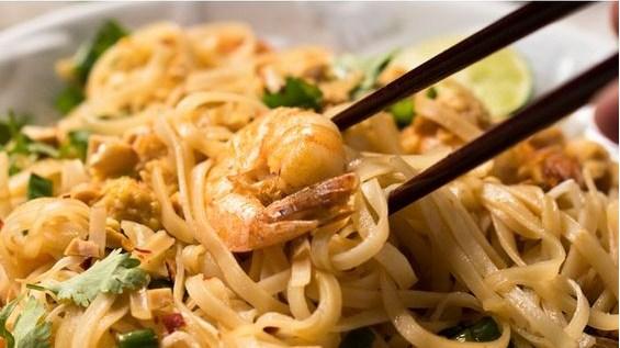 paleo  keto pad thai with shirataki noodles recipes