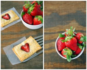 Strawberry Nuttela Poptarts