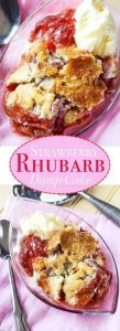 Strawberry Rhubarb Dump Cake Recipe, The Perfect Summer Dessert Recipe