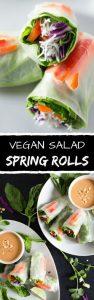 Vegan Salad Spring Rolls Recipe