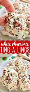 White Chocolate Ting-a-Lings Recipe