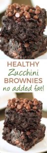 Zucchini Chocolate Brownies