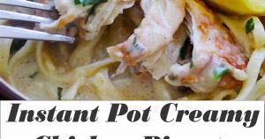 Instant Pot Creamy Chicken Piccata