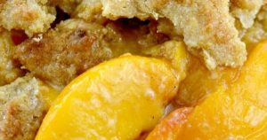 Seriously The Best Southern Peach Cobbler!