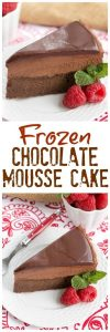 Frozen Chocolate Mousse Cake Recipe