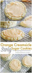 """Orange Creamsicle """"Swig"""" Sugar Cookies Recipe"""