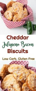 Keto Cheddar Jalapeno Bacon Biscuits Recipe
